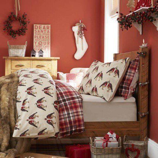 Thiết kế giáng sinh cho phòng ngủ đẹp